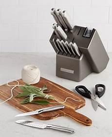 Kitchen Essentials Calphalon 16 Knife Set by Kitchenaid Kkfss16cs Architect Series 16 Pc Stainless