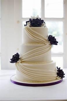 cadbury purple drape wedding cake bakealous