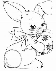 free printable rabbit coloring pages for bunny