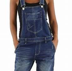 damen jeans hose baggy boyfriend latzhose latzjeans