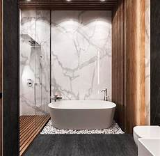 id 233 e d 233 coration salle de bain marbre et bois dans une