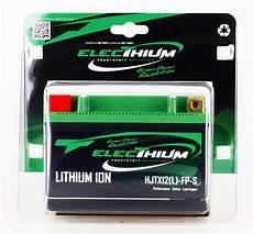 batterie lithium moto electhium batterie lithium hjtx12 l fp s ytx12 bs