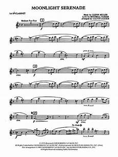 preview moonlight serenade 1st b flat clarinet by glenn