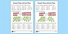 worksheets twinkl 19073 greater than and less than worksheets differentiated greater than and