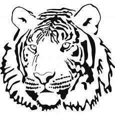 tiger coloring page tiger outline clip