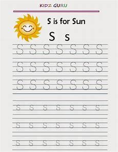 kindergarten worksheets printable tracing worksheet alphabet s s
