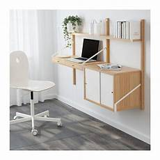 Svaln 196 S Wall Mounted Workspace Combination Ikea
