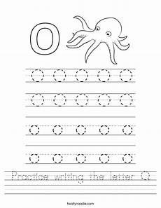 letter o tracing worksheets preschool 23921 practice writing the letter o worksheet twisty noodle