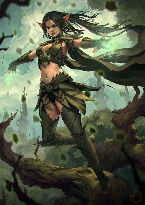 Dark Elf Druid