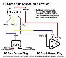 2g Cas Crank Sensor In A 1g Dsmtuners