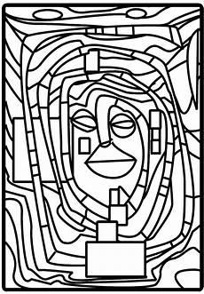 Malvorlage Hundertwasser Haus F Hundertwasser Friedensreich Hundertwasser Coloriage