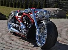 harley davidson v rod usa custom bike