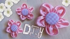 fiori in panno tutorial come realizzare un fiore di stoffa diy pink
