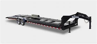 Gooseneck Two Car Hauler Trailer Professional Series By