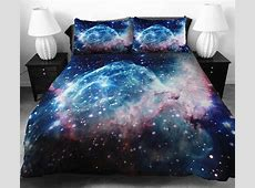 Cosmos Themed Decor for Bedroom, Unique Bedding Sets
