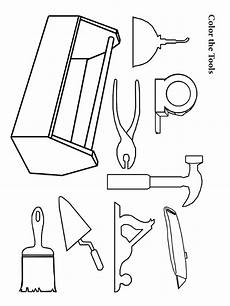 tool coloring pages free printable tool coloring pages