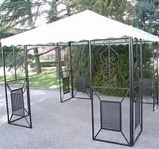 gazebi da giardino in ferro gazebo in ferro battuto friendly mt 3x3 arredo giardino