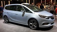 Opel Zafira 2017 In Detail Review Walkaround Interior