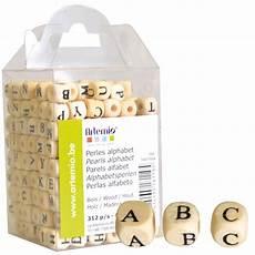 perles alphabet bois artemio