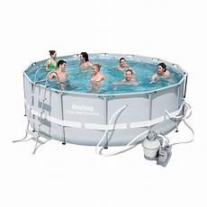 bestway power steel frame pool set 14 x 48 inches