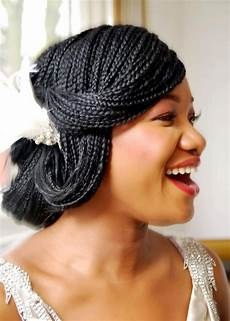 Micro Braids Hairstyles For Weddings