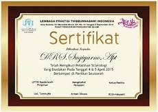 download template sertifikat keren versi cdr