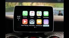 Apple Carplay In Der Neuen Mercedes A Klasse 2015