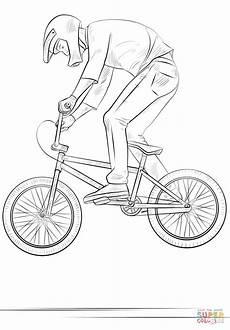 Malvorlage Zum Ausdrucken Fahrrad Ausmalbild Bmx Radfahrer Ausmalbilder Kostenlos Zum
