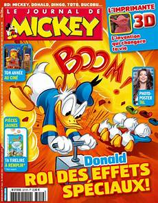 Le Journal De Mickey 3194 Issue