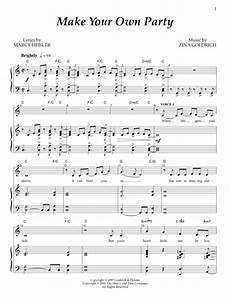 download make your own party sheet music by goldrich heisler sheet music plus