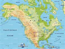 Nordamerika Karte Nordamerika Reisef 252 Hrer Nordamerika