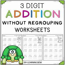 addition 3 digits without regrouping worksheets 9564 learning desk teaching resources teachers pay teachers