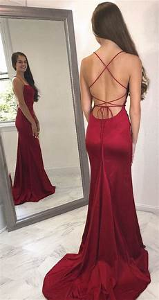 backless mermaid long prom dress 2019 fashion formal dresses modest promtailor