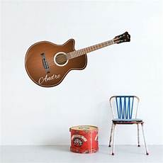 acoustic guitar decals acoustic guitar wall decal stringed instrument wall design guitar wall decor