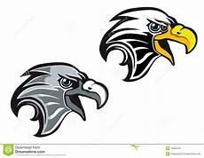 eagle symbol stock vector illustration of