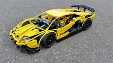 lego technic lamborghini aventador yellow coole autos autos