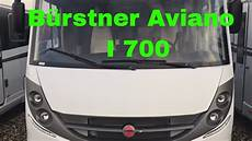 b 252 rstner aviano i 700 rv wohnmobil review test 2018