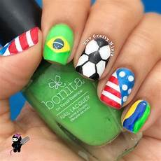 world cup soccer nails the crafty ninja