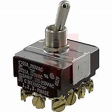im254 73 toggle switch 4pdt on on 15 a panel mount