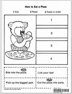 time sequencing worksheets 3200 story sequencing cut paste learningenglish esl