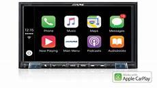 alpine ilx 702d alpine ilx 702d 7 quot apple carplay android auto sound garage
