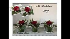 Diy Edle Rosendeko Hochzeitsdeko Tischdeko Blumendeko
