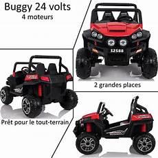 Grand 4x4 Buggy Voiture 233 Lectrique Enfant 2 Places 24v
