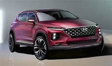 hyundai santa fe 2019 revealed bold new suv design