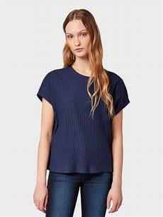 tom tailor denim t shirt 187 t shirt in rippoptik 171 otto
