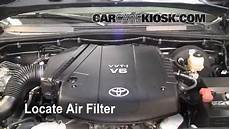 2009 Tacoma Fuel Filter Location by Air Filter How To 2005 2015 Toyota Tacoma 2009 Toyota