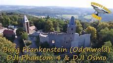 Burg Frankenstein Odenwald Bei Darmstadt Dji Phantom 4