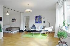 1 Zimmer Wohnung Einrichtungsideen - home interior and exterior design all in one room