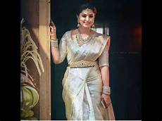 silver models silver color sarees in models