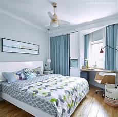what colour of curtains would go with light blue bedroom walls quora